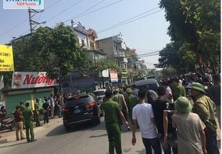 Giải cứu thành công nữ điều dưỡng bị hai đối tượng dùng súng khống chế tại Thường Tín, Hà Nội
