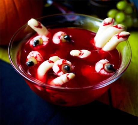 chiếc bánh ngọt siêu kinh dị dành cho ngày Halloween