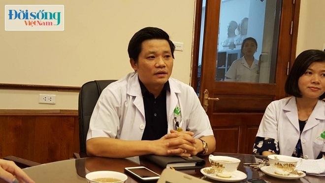 Giám đốc Bệnh viện Phụ sản Hà Nội thông tin với PV về sự việc