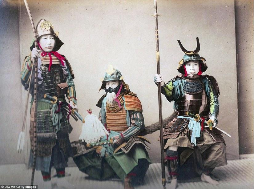 Samurai những chiến binh dũng mãnh, thiện chiến