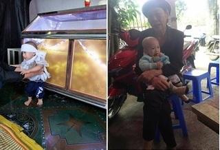 Bắc Ninh: Mẹ vừa bỏ đi 8 tháng, bé trai chưa đầy 1 tuổi đã phải chịu tang cha