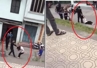Nam thanh niên đánh đập, túm tóc kéo lê bạn gái giữa đường phố Hà Nội
