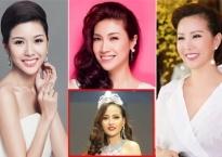 Khánh Ngân đăng quang Hoa hậu Hoàn cầu 2017, sao Việt đồng loạt gửi lời chúc mừng