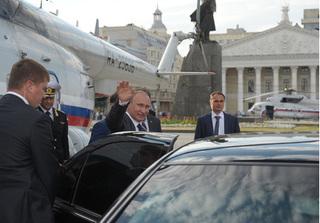 Choáng ngợp dàn siêu xe của Tổng thống Putin tại Đà Nẵng