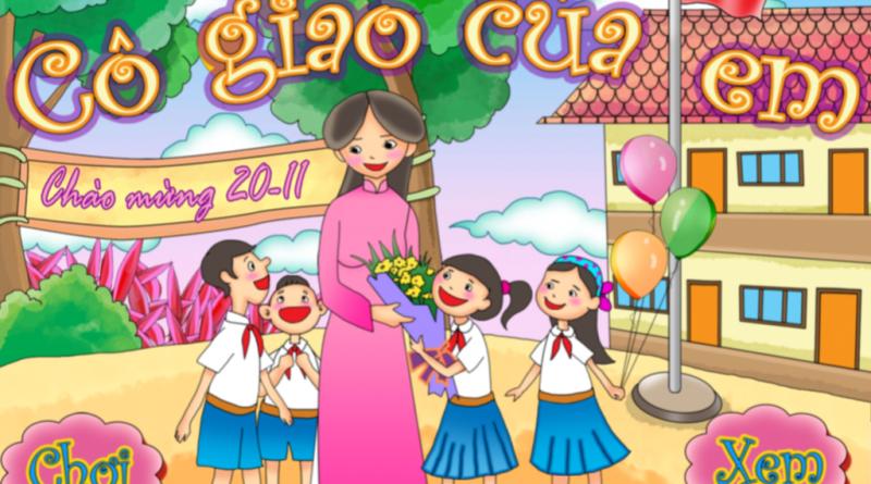 Bức tranh vẽ ngày 20/11 tại Việt Nam tuyệt đẹp dành tặng thầy cô