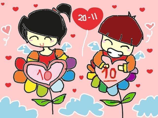 Bức tranh vẽ ngày 20/11 tại Việt Nam tuyệt đẹp dành tặng thầy cô8