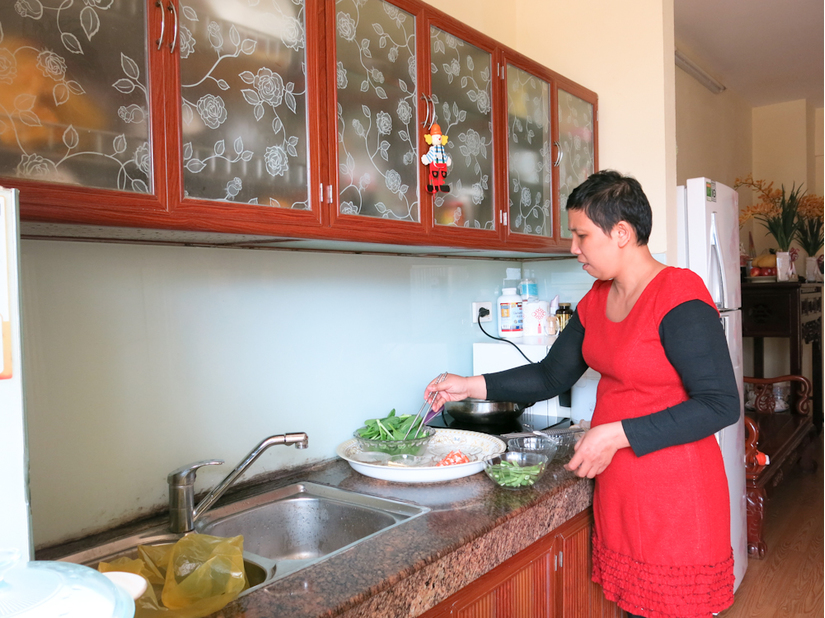Nữ nhà báo Cẩm Bào bị ung thư vú