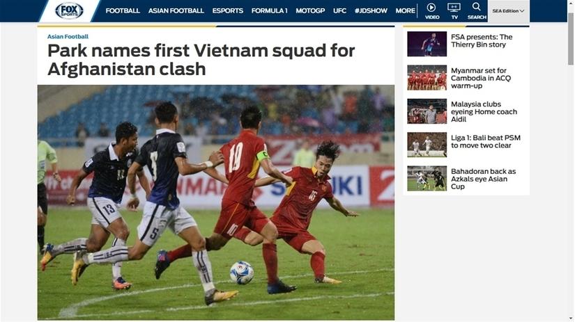 HLV Park Hang Seo ra mắt người hâm mộ Việt Nam