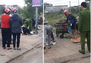 Bắc Giang: Phát hiện thi thể bé sơ sinh còn nguyên dây rốn trong thùng rác