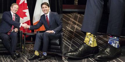 Thủ tướng Canada Justin Trudeau biến sở thích thành chiêu