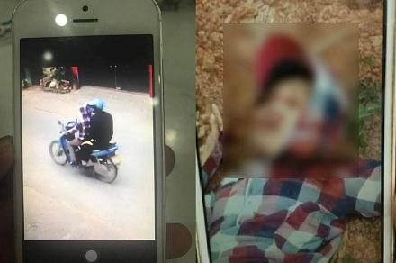 Trước khi bị sát hại chị H. có chở một người đàn ông từ khu công nghiệp Yên Phong lên thị xã Phổ Yên