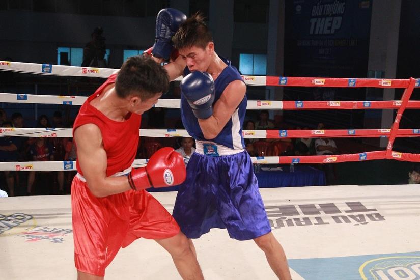 Chung kết giải Boxing tranh cup Number1 lần 1