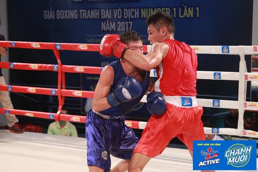 Chung kết giải Boxing tranh cup Number1 lần 1 - 1