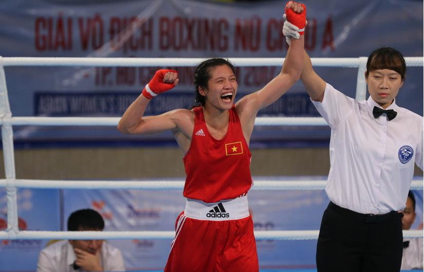 : Nguyễn Thị Tâm vừa giành HCV tại Giải vô địch Boxing nữ châu Á 2017