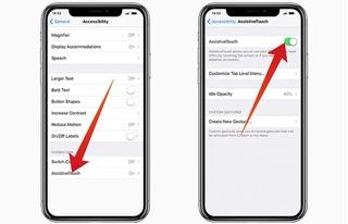 Thử ngay cách này nếu bạn đang loay hoay với điện thoại iPhone X không nút Home