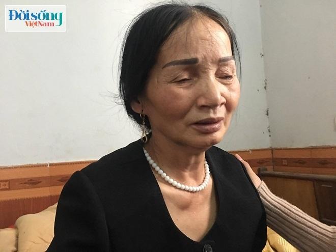 Mẹ chồng người phụ nữ bị sát hại ở Thái Nguyên khóc nấc khi nhắc đến con dâu