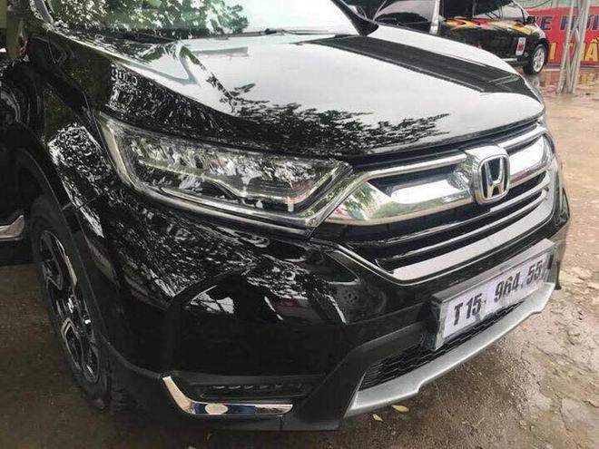 Honda CR-V 2017 bất ngờ xuất hiện ở Hà Nội trước ngày ra mắt