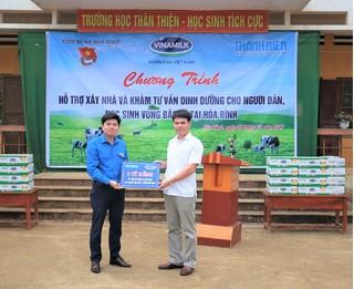 Vinamilk hỗ trợ 3 tỷ đồng cho người dân vùng lũ các tỉnh Yên Bái, Thanh Hóa và Hòa Bình