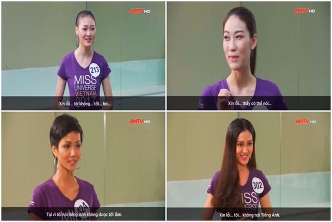 Ngán ngẩm vì thí sinh Hoa hậu Hoàn Vũ không biết Trung Quốc được dịch sang Tiếng Anh là gì