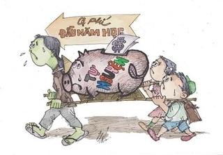 Điểm mặt danh sách 20 trường học lạm thu đã bị xử lý ở Hà Nội