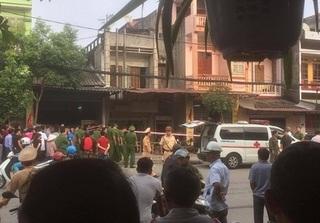 Thái Nguyên: Nổ lớn trước cửa nhà dân khiến một phụ nữ tử vong
