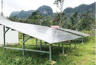 Dự án điện mặt trời gần 14 triệu USD tại Quảng Bình: Nguy cơ thành phế liệu