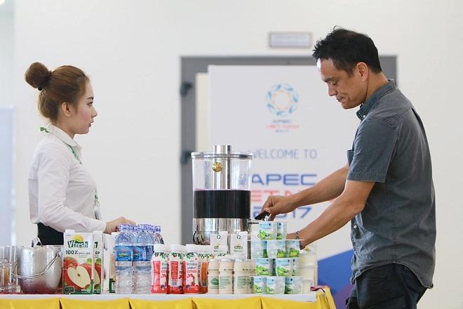 Hơn nửa triệu sản phẩm Vinamilk được chọn phục vụ APEC 2017
