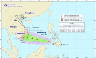 Áp thấp nhiệt đới có thể mạnh lên thành bão, thẳng tiến vào Nam Bộ
