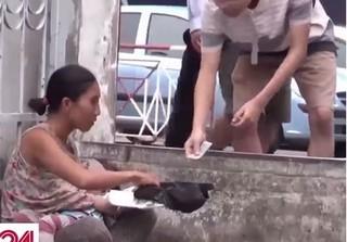 Người mẹ ôm con 3 tuổi đi xin tiền chích ma túy đã được vào trại cai nghiện