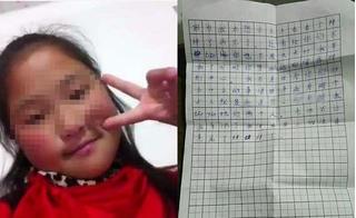 Bé gái 10 tuổi uống thuốc sâu tự tử để lại bức thư tuyệt mệnh đẫm nước mắt