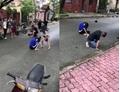 Nhóm học sinh dùng mũ bảo hiểm đánh dã man vào đầu bạn gây phẫn nộ