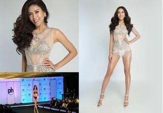 """Clip HOT: Á hậu Nguyễn Thị Loan trình diễn áo tắm """"bốc lửa"""" tại Miss Universe 2017"""