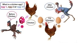 Đã có đáp án cho câu hỏi gà có trước hay trứng có trước