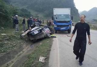 Tai nạn thảm khốc ở Sơn La, 4 người tử vong tại chỗ