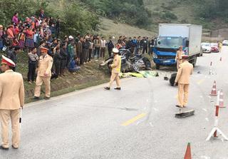 Xác định danh tính 4 người tử vong trong vụ tai nạn ở Sơn La, 2 nạn nhân là học sinh lớp 12