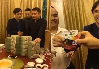 Choáng với clip giao dịch sim trị giá 9 tỷ đồng của đại gia Phú Thọ