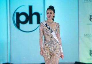 Clip Nguyễn Thị Loan phát âm tiếng Anh sai ngữ pháp tại Miss Universe 2017
