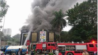 Không có thiệt hại về người tại vụ cháy quán karaoke ở Linh Đàm
