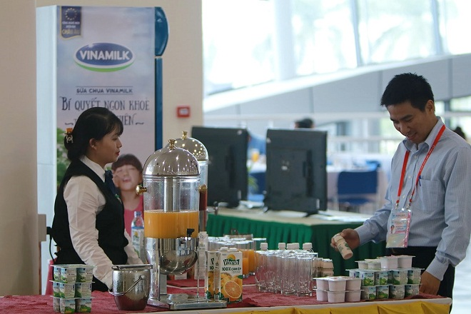 Vinamilk tự hào thương hiệu đồ uống được chọn tại APEC 2017