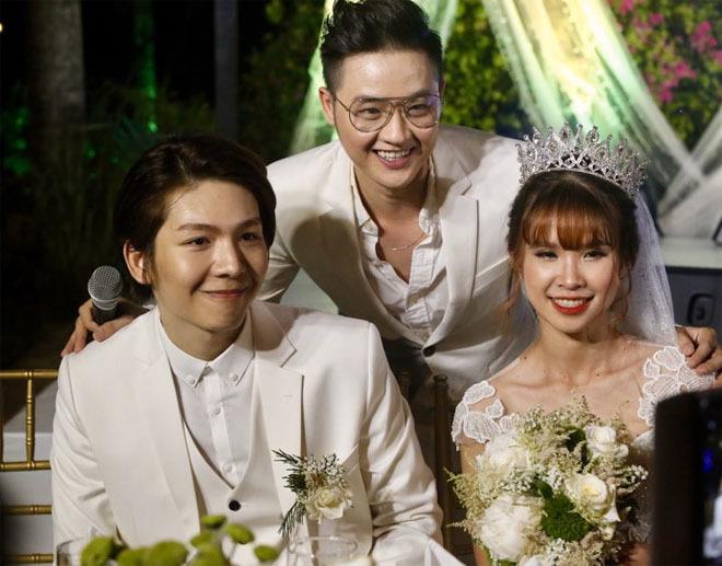 Dàn sao Việt nô nức dự đám cưới Khởi My và Kelvin Khánh4