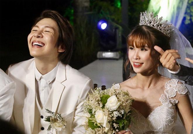 Dàn sao Việt nô nức dự đám cưới Khởi My và Kelvin Khánh