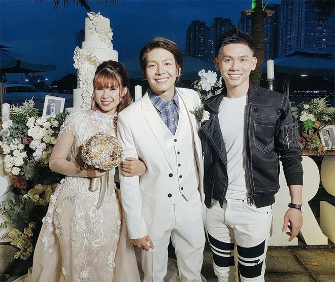 Dàn sao Việt nô nức dự đám cưới Khởi My và Kelvin Khánh3