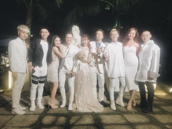 Dàn sao Việt nô nức dự đám cưới Khởi My và Kelvin Khánh7