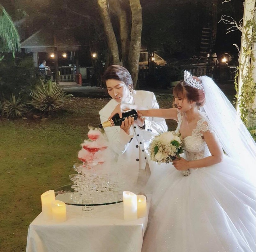 Dàn sao Việt nô nức dự đám cưới Khởi My và Kelvin Khánh23