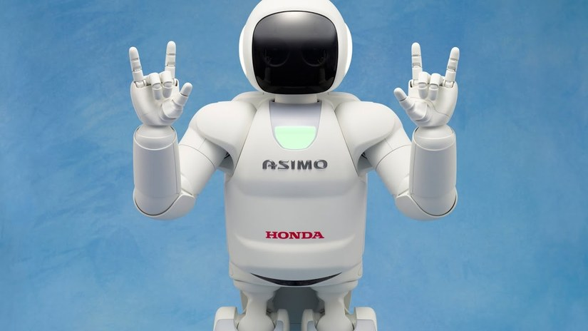 Robot Asimo là một robot siêu thông minh