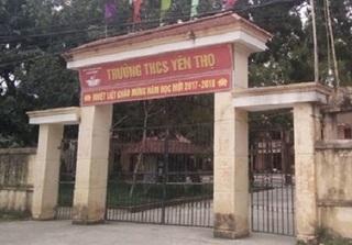 Thanh Hóa: Phụ huynh xông vào trường dọa giáo viên vì con bị véo tai