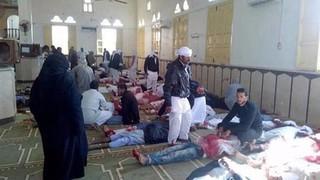 Vụ xả súng vào đền thờ Hồi giáo ở Ai Cập, số người chết đã lên tới 235 người