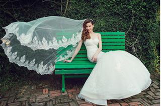 Vừa nói yêu Kim Lý, Hồ Ngọc Hà bất ngờ công khai ảnh cưới