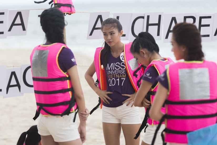 Ngọc Út và Tuyết Trang thắng tập 9 tại Miss Universe Vietnam 2017