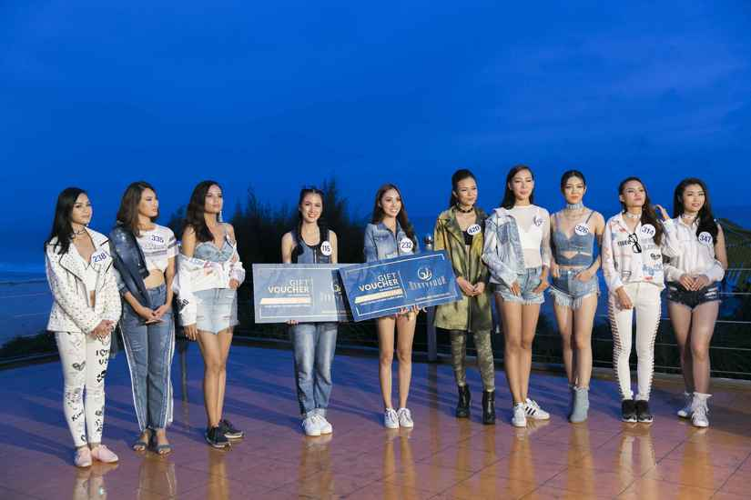 Ngọc Út và Tuyết Trang thắng tập 9 tại Miss Universe Vietnam 2017 4